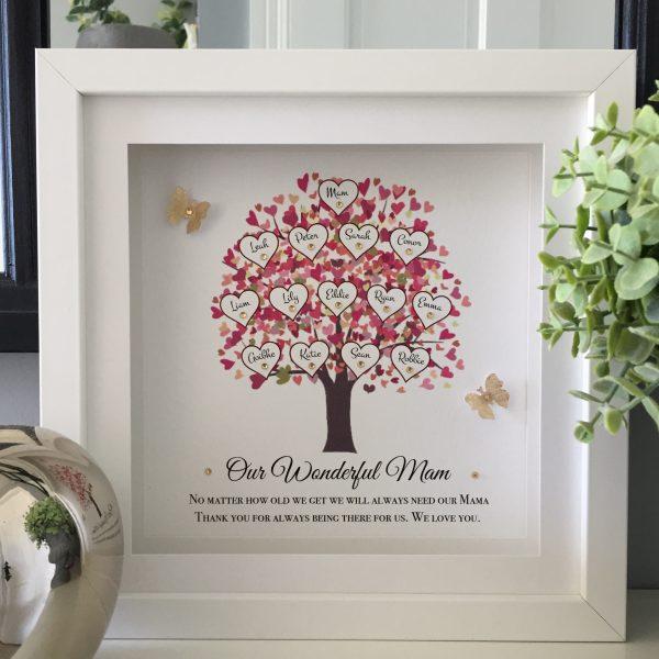 Family Tree Print for mam