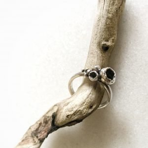 Silver Pods Ring