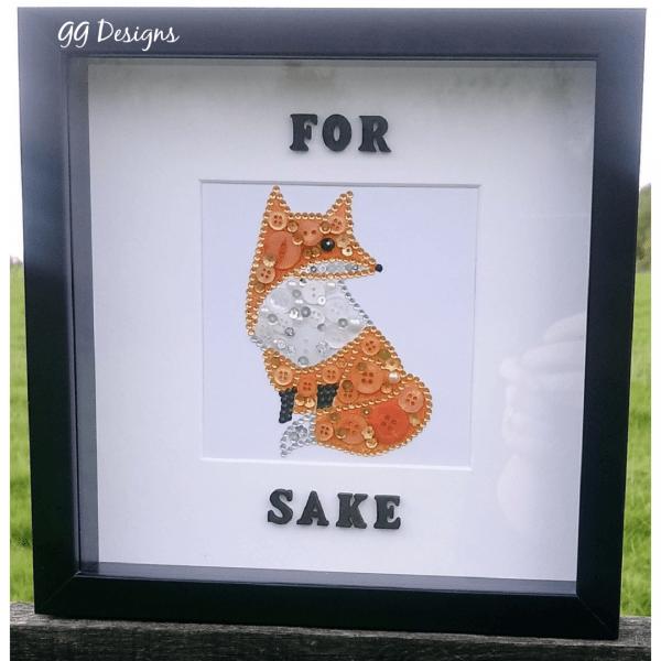 Fox Button Frame