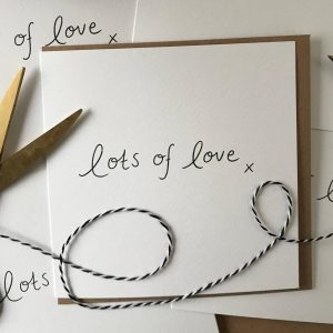 Lots of Love greeting Cards Bundle
