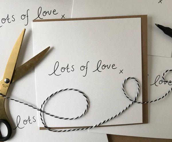Lots of Love greeting Cards Bundle