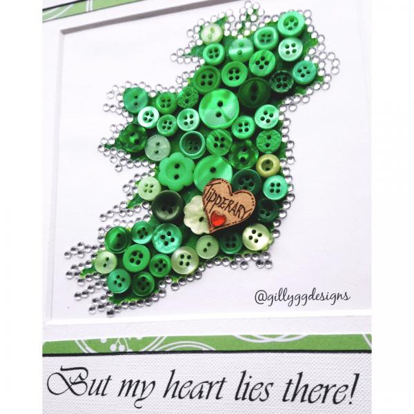 Ireland Heart Frame