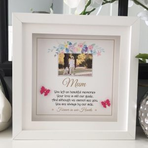mum remembrance frame