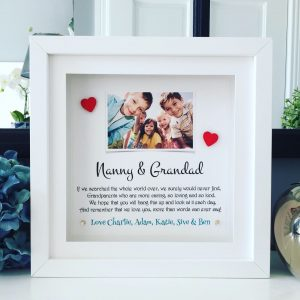 Grandparents Photo and poem frame