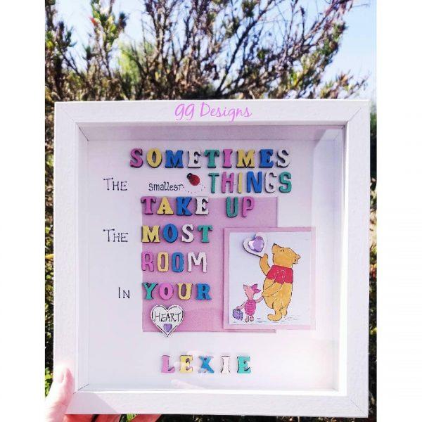 Winnie the Pooh Frame - winnie the pooh design