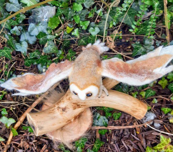 Needle Felted Barn Owl - 20200209 161642