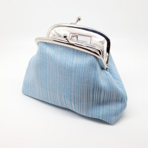 Baby Blue Clutch Bag