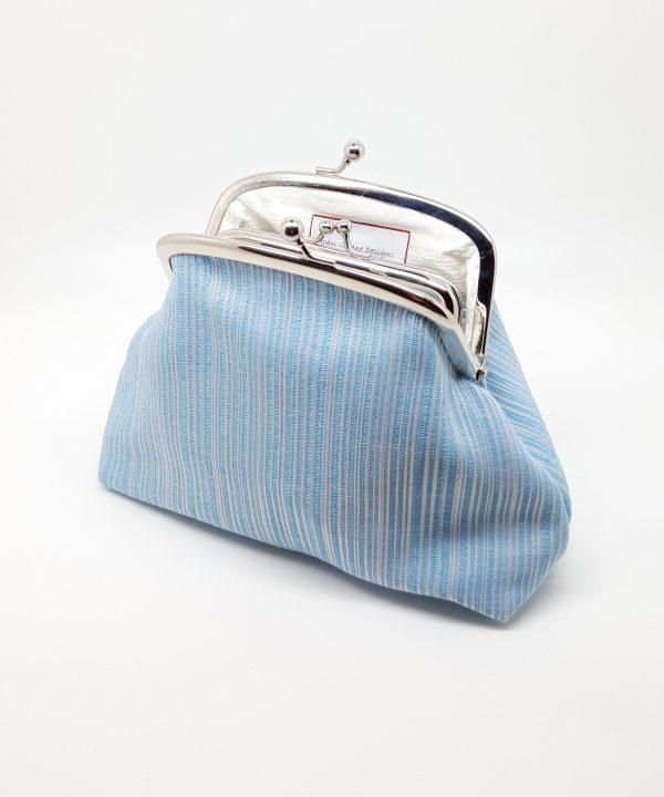 Baby Blue Clutch Bag