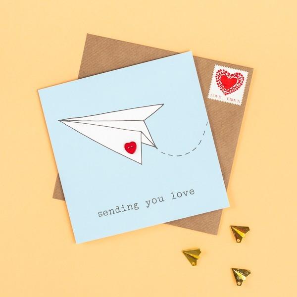 Sending You Love greeting card