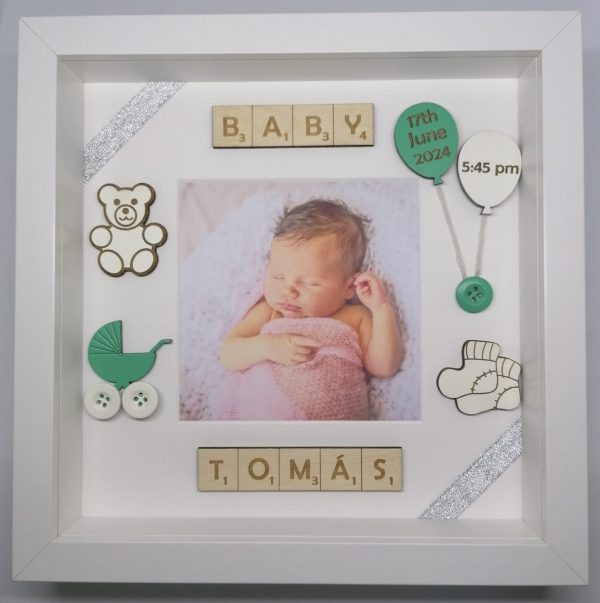New Baby Picture Frame