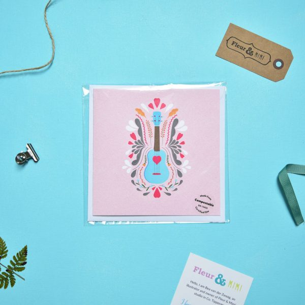 Greeting Card - You have my heart - Love Ukelele