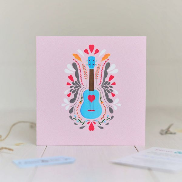 Greeting Card - You have my heart - Love Ukelele Copy