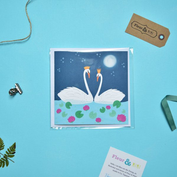 Greeting Card - Swans - Swans