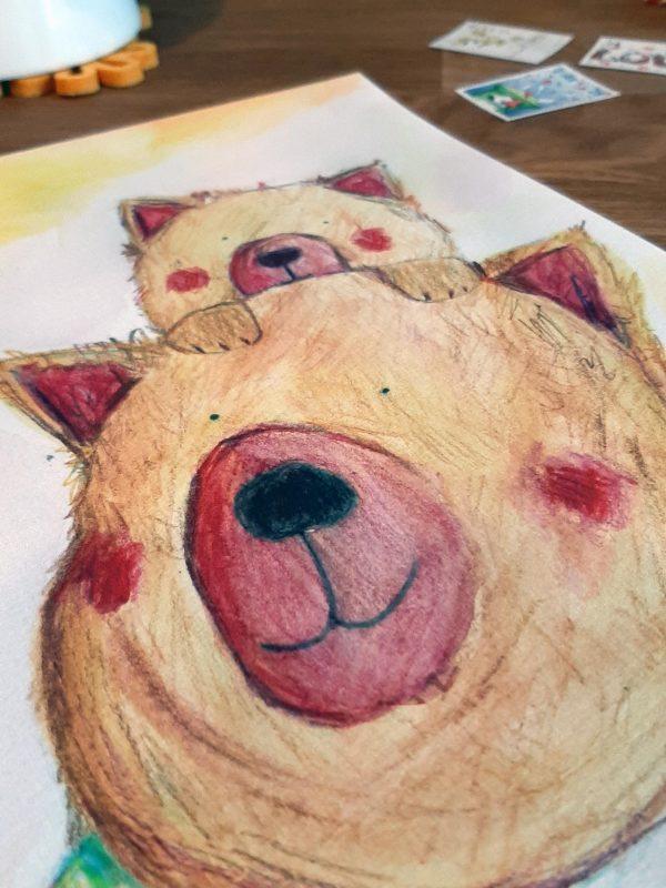 Big Bear & Little Bear Archival Print - bear1 scaled