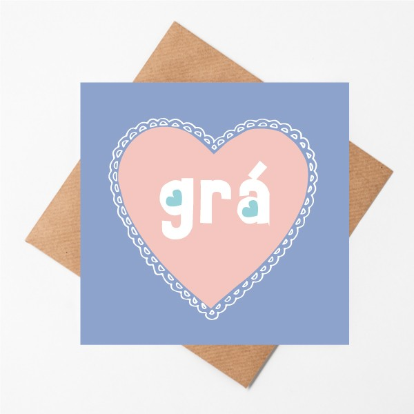 Grá - Love greeting card