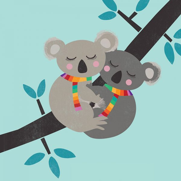 Hang in There - koala hugs2