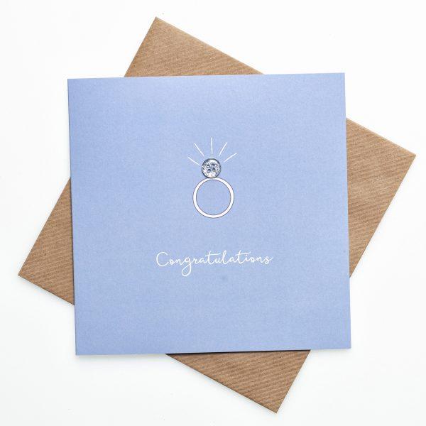 Button Engagement card