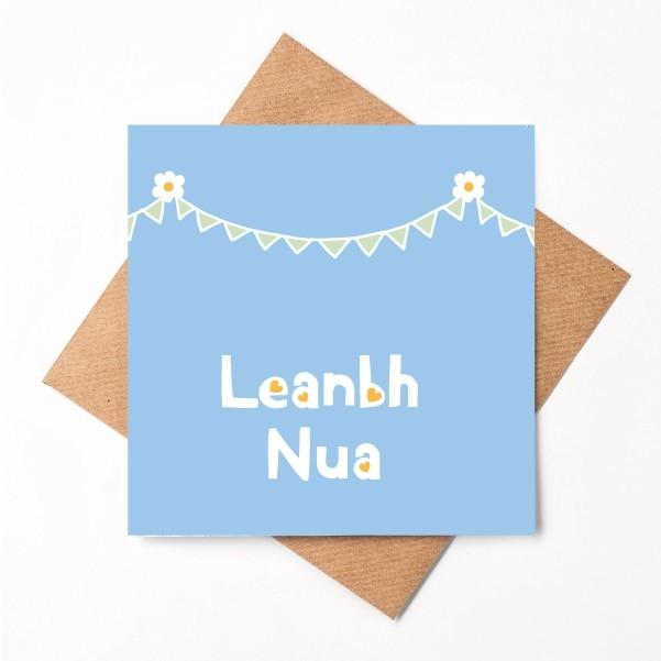 Leanbh Nua (Boy) - shopify print irish baby boy