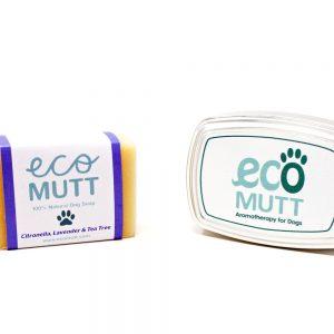 Eco Mutt Citronella, Lavender & Tea Tree Shampoo Bar with Reusable Tin