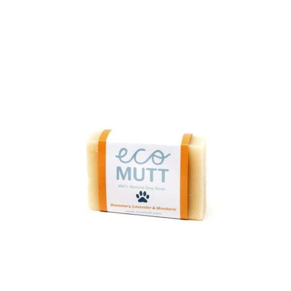 Eco Mutt Dog Shampoo Bar. Natural Dog Grooming made using Natural Vegan Ingredients. Great for Sensitive Dogs