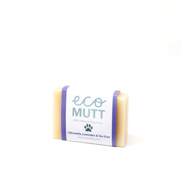 Eco Mutt Aromatherapy Dog Shampoo Bar. Natural Dog Care using Vegan Friendly Ingredients and Scented with Essential Oils