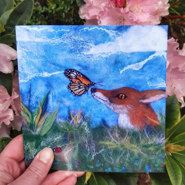 Curious Creatures Greeting Card