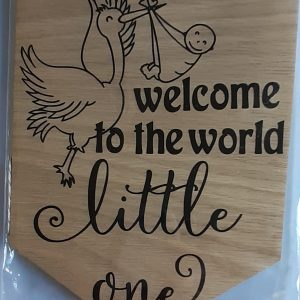 Baby Wooden Hanging Decoration