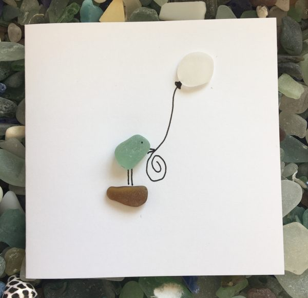 Set of 5 Bird Seaglass Notecards - 28E6648F B8BA 4B07 B9CF 029E5A469211 scaled