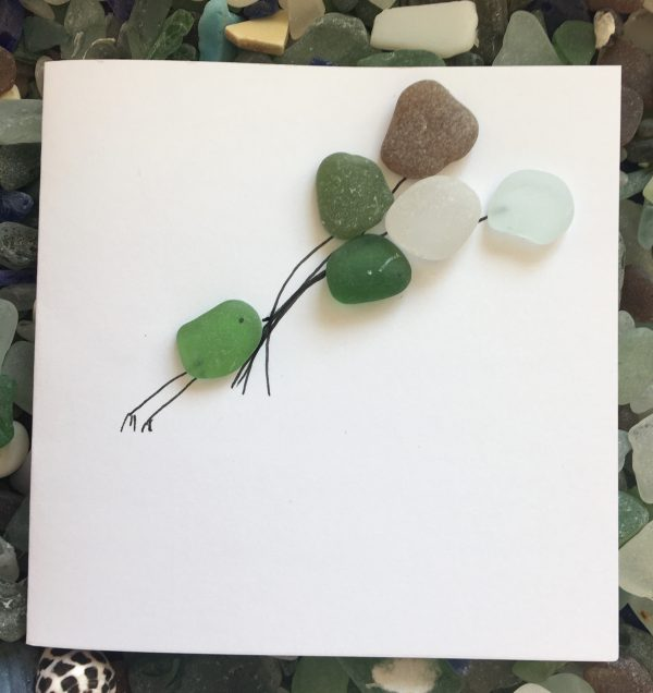 Set of 5 Bird Seaglass Notecards - 33CBBE99 0E0A 4D20 AA74 8766237FC865 scaled