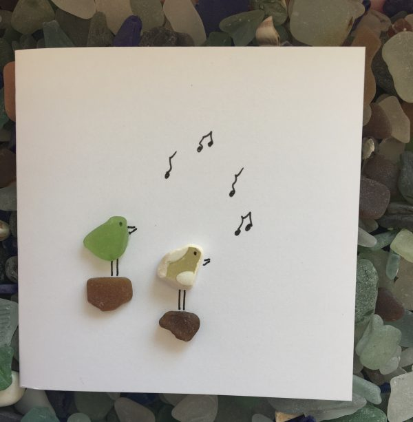 Set of 5 Bird Seaglass Notecards - 6CA3CBDF 9AB3 4A8A BD5F 283D3D36329D scaled