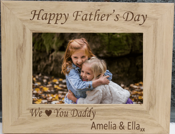 We Love You Father's Day Photo Frame