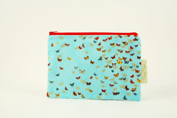 Blue Butterfly Makeup Bag - IMGL7581 scaled