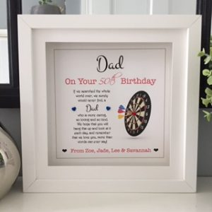 Personalised Dad Frame