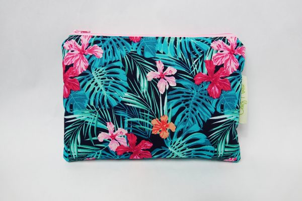 Tropical Floral Makeup Bag - RX301919 scaled