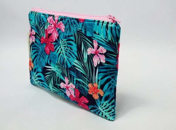 Tropical Floral Makeup Bag - RX301926 scaled
