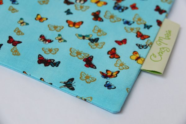 Blue Butterfly Makeup Bag - RX308398 scaled