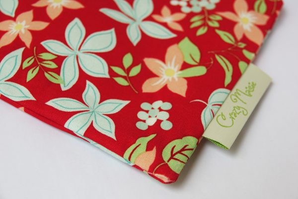 Red Floral Makeup Bag - RX308419 scaled