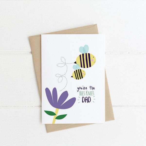 You're the Bees Knees - Fathers Day Card