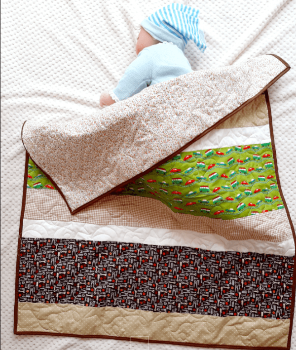 Car Baby Quilt (Personalisation Option) - carquilt3