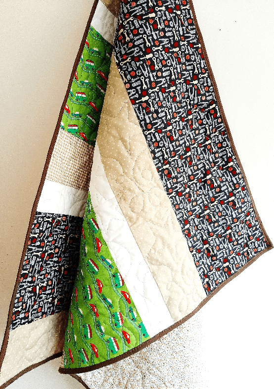 Car Baby Quilt (Personalisation Option) made in ireland quilts