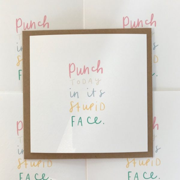 Punch Today greeting card