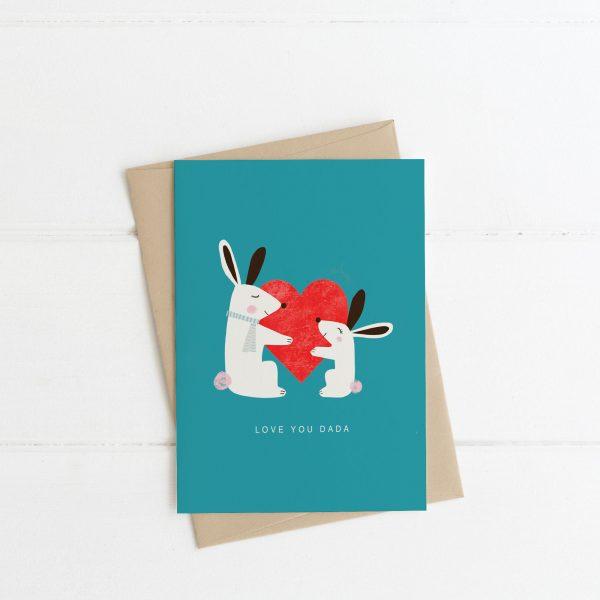 Love You Dada - Fathers Day Card