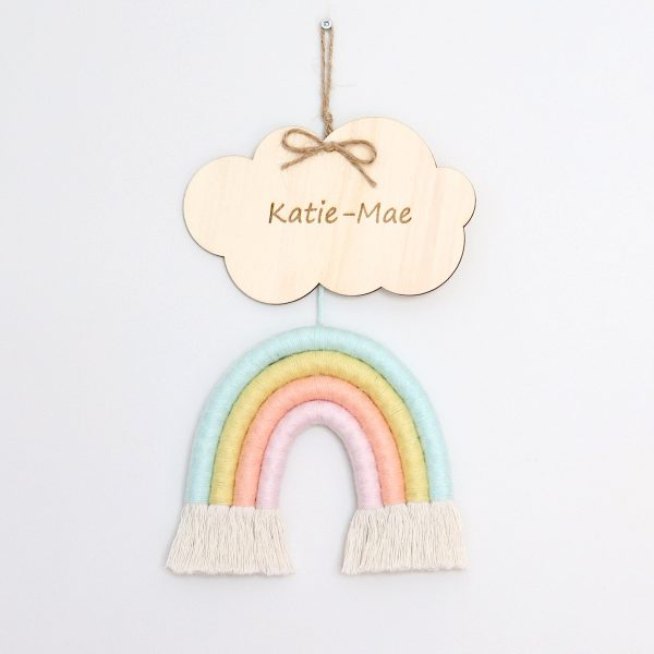 Rainbow Macrame Pastel