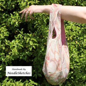 Reversible Linen Boho Bag