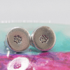 Tiny Pawprint Earrings