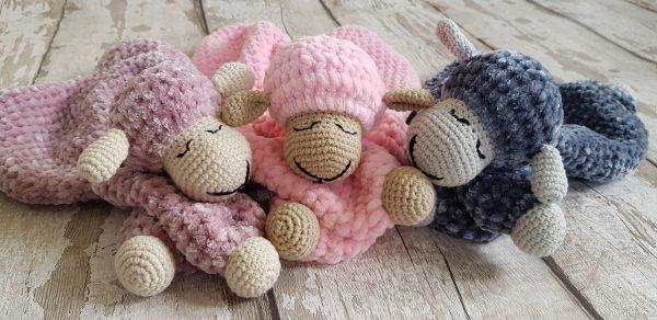 Super Soft Cuddly Sheep