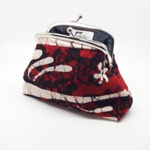 Red Batik Clutch Bag
