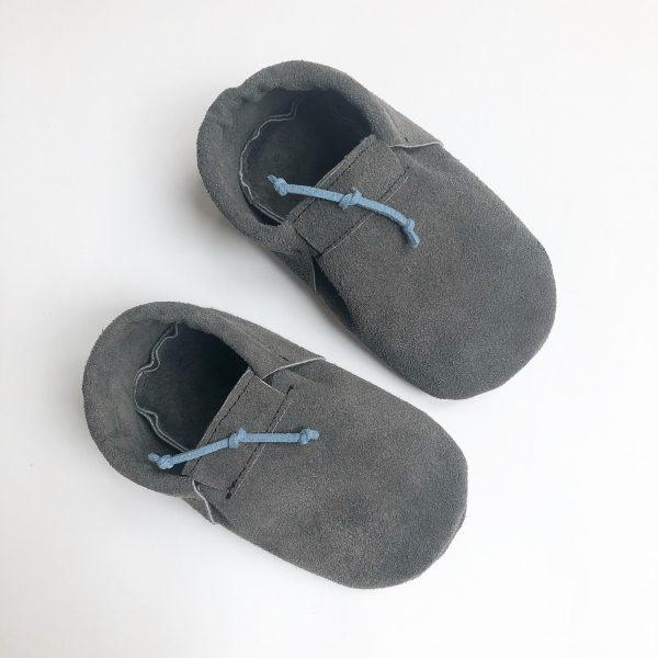 Leather Baby Moccasin Shoes (Girls & Boys) - 5F016CFF 7838 4A03 A1F8 F235BE167B00 scaled