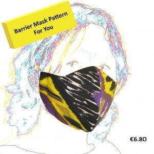 Barrier Mask Sewing Pattern