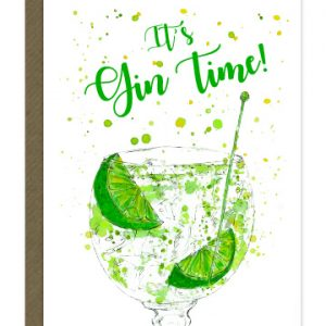 It's Gin Time Card